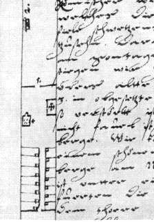 План Києво-печерської лаври. Рис. М.Груневега 1584 р.