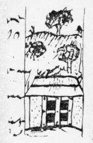Вхід до печер. Рис. М.Груневега 1584 р. [E]